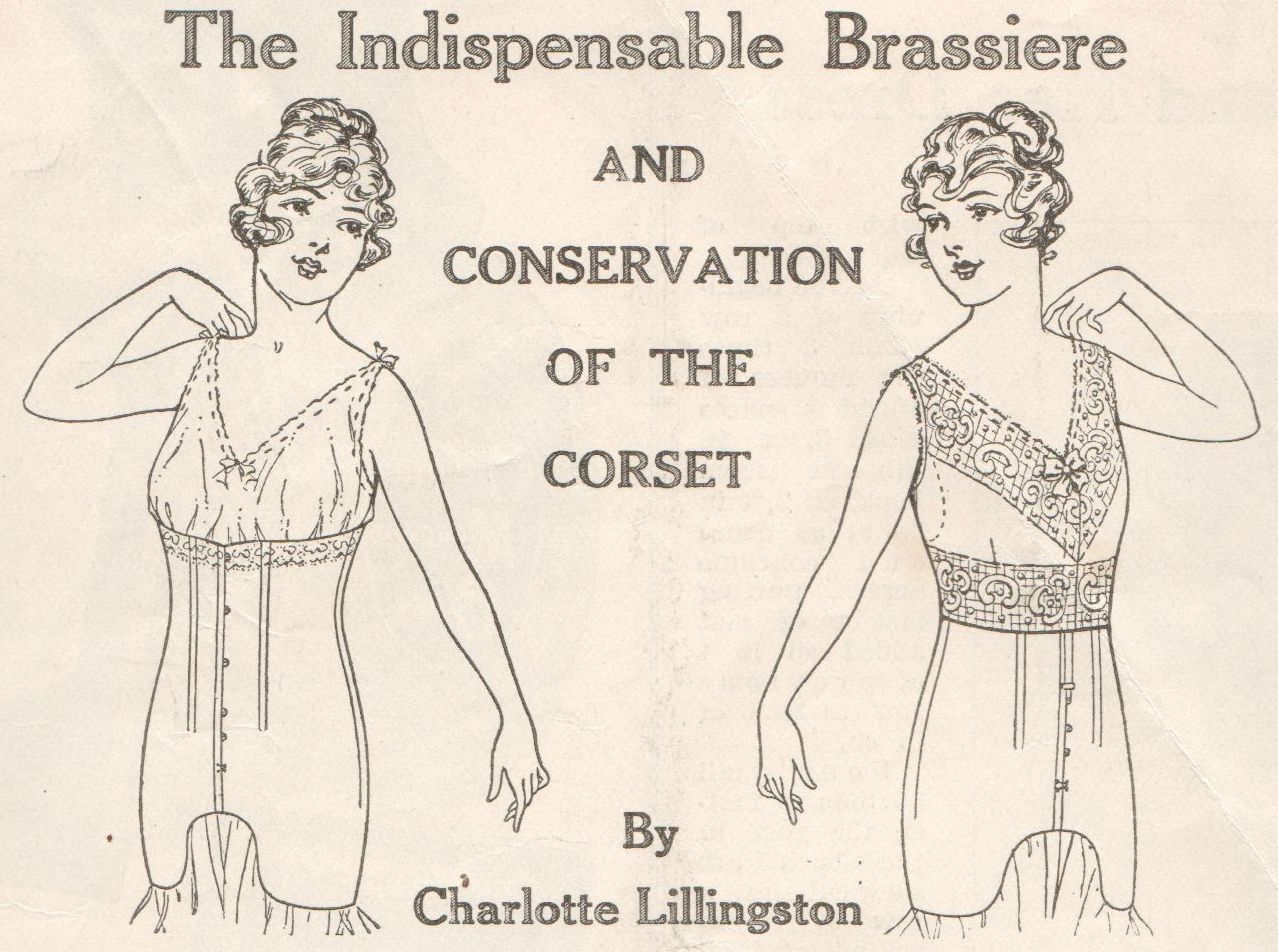 The Indispensable Brassiere and Conservation of the Corset – December 1917