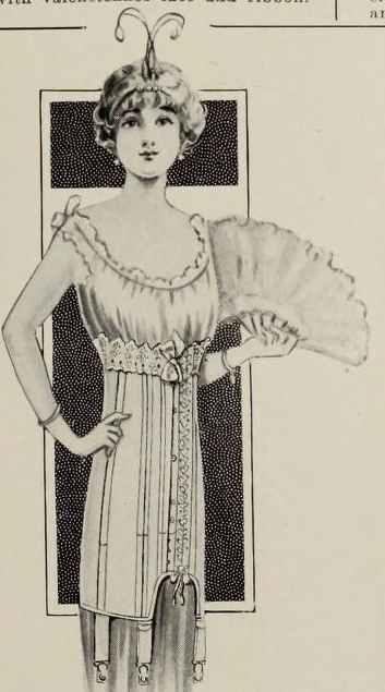 The Uncorseted Look – April 1914